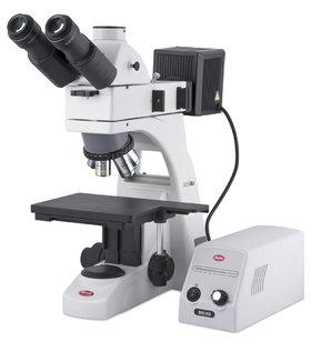 Motic Microscoop BA310MET trinoculair