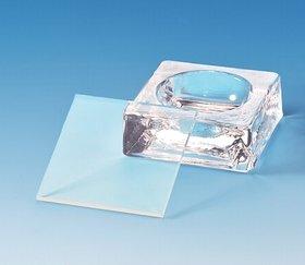 Microscopie kom helder glas